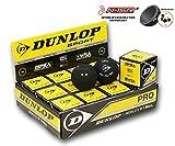 Dunlop Pro Squash Blle - 12er Box NEU!