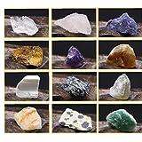 20pcs Hauptdekor Natürliche Kristallstein Unregelmäßige Tumbled Mini Ores Steinsammlung...