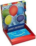 Amazon.de Geschenkkarte in Geschenkbox - 100 EUR (Geburtstagsberraschung)