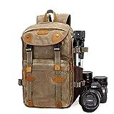 Quskto Kamerarucksack, Multifunktionale SLR-Kamera-Beutel-groe Kapazitt Multi-Objektiv Reisekamera...
