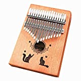 Thumb Piano Yusell Piano Stamps 17 Sound Piano Stamps Anfänger Erste Schritte Finger Piano...