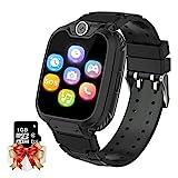 Smartwatch Kinder Telefon - Spiel Musik Kids Smart Watch [1 GB Micro SD Enthalten] mit Anruf Kamera...