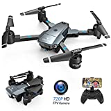 SNAPTAIN A15H Drohne mit Kamera HD 720P Faltbare Drohne FPV WLAN 120° Weitwinkel RC...