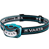 VARTA 4x 5mm LED Outdoor Sports Head Light inkl. 3x High Energy AAA Batterien Kopfleuchte...