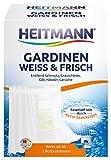 Heitmann Gardinen Weiss und Frisch: Entfernt Schmutz und Grauschleier aus Gardinen,...