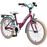 BIKESTAR Premium Sicherheits Kinderfahrrad 20 Zoll fr Mdchen ab 6-7 Jahre  20er Kinderrad Classic...