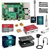 LABISTS Raspberry Pi 4 Model B 4 GB Ultimatives Kit mit 32GB Class10 Micro SD-Karte, 5,1V 3,0A USB-C...