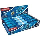 BIC Tipp-Ex 8706142 Korrekturroller Micro Tape Twist, 10 Korrekturmäuse in Blau, Korrekturband à 8...
