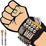 flintronic Magnetisches Armband, Magnetarmband Handwerker mit 20 Starken Magneten Magnetische...