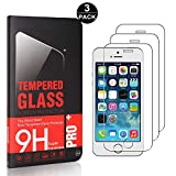 Bear Village iPhone SE/iPhone 5 5s Displayschutzfolie, Blasenfrei, Anti-Fingerabdruck, HD Ultra klar...