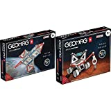 Geomag 810 Special Edition Razzo NASA, Multicolor(Schwarz/Grau/Rot), 84 pezzi + 809 Special Edition...