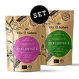 Vita Et Natura® Zyklustee 1 und 2 'Probier Set' - Bewährte Kräutermischungen nach traditioneller...