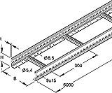 Rico Kabelpritsche 171C1-200-L63 200x60x6000mm Kabelrinne/Weitspannkabelrinne 4046847027004