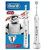 Oral-B Junior Star Wars Elektrische Zahnbürste mit visueller Andruckkontrolle, für Kinder ab 6...