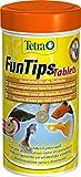 Tetra FunTips Tablets, Haft Futtertabletten als Hauptfutter fr alle Zierfische, verstrken die...