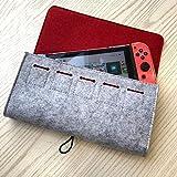 SimpleMfD Aufbewahrungstasche für Nintendo Switch-Spielekonsole Haltbare Tragetasche für...