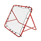 Jtoony-SP Fuballtor fr Kinder, quadratisch, roter Rahmen fr den Hinterhof, strapazierfhig und...