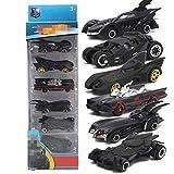 Daxoon Batman Auto Batmobile 6er Pack 1:64 Legierung Spielzeugautos für Kinder Geburtstagsgeschenke...