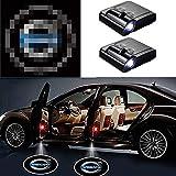 Zeichenleuchte für Passend für 2ST Auto-Tür-Led Logo-Projektor-Licht, for -Auto-Emblem drahtlosen...