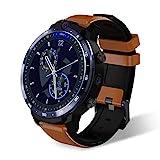 SUQIAOQIAO LEM 12 1,6-Zoll-HD-IPS Voll Touch Screen Smart Watch, Dual-Kamera 3 + 32G 900 Mah...