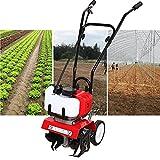 2-Takt 52CC Benzin Gartenhacke Motorhacke Bodenfräse Kultivator Fräse Hacke Gartenfräse Benzin...