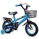 Ordioy Kinderfahrrad Ultralight Kinder Fahrrad, Mit Stützrad High-Carbon Stahl Kinderfahrrad...
