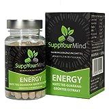 Energy | Mate-Tee Guarana Grüntee Extrakt | natürliches Koffein ohne Zusatzstoffe - hergestellt in...