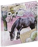 Pagna Poesiealbum La Passionata 128S, Pappe, Motiv, 15.5 x 18 x 1.5 cm