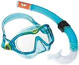 Aqua Lung Unisex Kinder Sport Schnorchel-Set mit Tauchmaske und Schnorchelrohr, Blau - Aqua,...