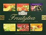Ahmad Tea Fruity Tea Selection Schwarzer Tee 60 Teebeutel mit Band/Tagged, 120 g