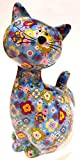 Spardose Deluxe Caramel Cat Cats Katze Größe L Hellblau mehrfarbig