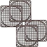 com-four® 4 Spülbeckenmatten universal, Spülmatte schützt die Oberfläche der Spüle und das...