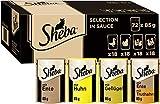 Sheba Selection in Sauce – Katzenfutter mit Geflügel in Sauce für ausgewachsene Katzen –...