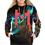 Rogerds Womens Markiplier Logo Winter Hoodie Sweatershirt Long Sleeve Pullover Hoodies for Women...