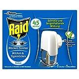 Raid Mücken-Stecker Insekten-Stecker elektrisch zum Schutz vor Mücken und Tigermücken, 3er Pack...