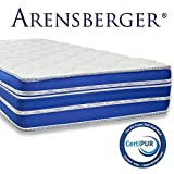 Arensberger ® Flexx 9 Zonen Matratze mit 3D-Memory Foam, 180cm x 200cm, Höhe 25 cm, Allergiker...