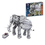NFtop Technik Elefant Walker Bauset mit Motor, Fernbedienung, Licht & Ton, Kompatibel mit Lego Star...