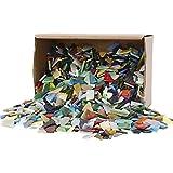 Creativ Company Tempera-Mosaik, Gre 8-20mm, verschiedene Farben, 2kg