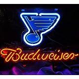 Budweiser Leuchtschild für Zuhause, Schlafzimmer, Pub, Bar,Hotel, Strand, Freizeit-Spielzimmer,...