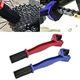 SENZEAL 2 pcs Ketten Reinigungsbürste für Auto Motorrad Fahrrad Kette Reinigung Wartungswerkzeug,...