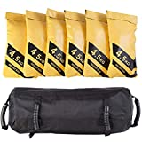 COSTWAY 27KG Power Bag, Sandbag aus Oxford, Core Bag inkl. 6 x 4,5 kg Sandsack, Gewichtsack,...