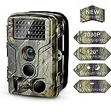 DIGITNOW! Wildkamera Fotofalle 16MP 1080P FHD Jagdkamera Beutekameras, 120 Weitwinkel Vision Und...