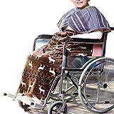 Accogliente Abdeckung für Rollstuhl, Universalgröße für Stühle mit Lenkrollen und Motorrollen,...