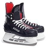 BAUER Herren Eishockey Schlittschuhe NS Senior, schwarz/rot, 40.5 EU