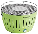 LotusGrill Holzkohlengrill Serie 340, Zitrus, 35 x 26 x 23,4