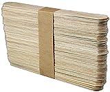 50 Leydi Holzspatel zum Auftragen von Wachs und Zuckerpaste - 1,8x15 cm