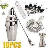 diamanstar Cocktail -10 Stck Cocktail Shaker Barkeeper Werkzeug Zubehr