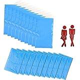 FOGAWA 10 Stück Tragbare Urinbeutel 600 ml Einweg Urinbeutel für Unterwegs Unisex Pee Taschen...