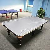 Zerone Poolbillardtisch, 8ft Spannbettlaken-Billard Heavy Duty Pool Tisch Abdeckung, wasserfest &...