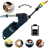 Stormfire USB Plasma Flamlos Feuerzeug mit Kindersicherung Lichtbogen elektrisch aufladbar fr Kerzen...